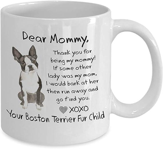 Boston Terrier Coffee Mug Bostie Is Family Adorable 11 oz Black Ceramic Tea