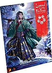 Navigate the treacherous intrigues of the winter court in the Winter's embraceadventure for the legend of the Five Rings roleplaying game! Being invited to the Emperor's winter court is daunting enough, but an invitation to tea with the legen...