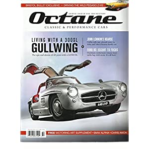 OCTANE, CLASSIC & PERFORMANCE CARS MAGAZINE OCTOBER 2016 ISSUE, 160 UK