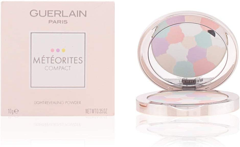Guerlain Meteorites Compact No. 2 Light Revealing Powder for Women, 0.35 Ounce