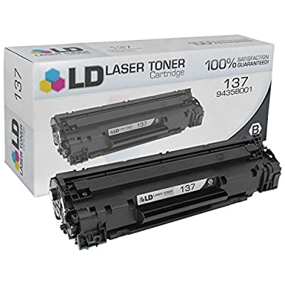 LD Compatible Canon 9435B001 / 137 Black Laser Toner Cartridge for use in Canon ImageClass MF212w, MF216n, MF227dw