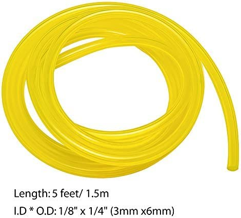 Fuel Line Hose Genuine Tygon Tube 4 Sizes Tubing Common 2 Cycle Small Engine 6ft
