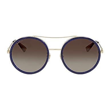 Gucci Herren Sonnenbrille GG0119S 005, Grau (Grey/Brown), 59