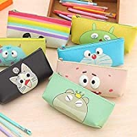 X-LUK Multipurpose Silicon Cartoon Eye Pouch for Makeup Bags / Cosmetic Kits / Travelling Tool kit for Girls and Women Multipurpose Adorable Travel Bags / Pouch case for Girls / Women ( 1 Pouch )
