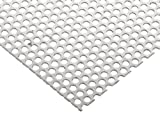 304 Stainless Steel Perforated Sheet, Unpolished