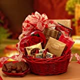 Chocolate Passion Valentine Gift Basket for Her