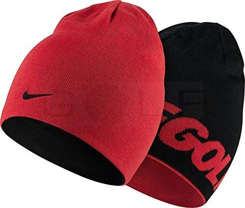 Golf Hat-803334-657-Red/Black (Jacquard Shopper)