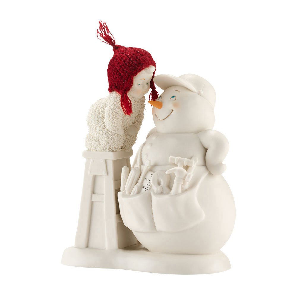 Snowbabies Classics You're My Handyman Figurine, 5.75-Inch