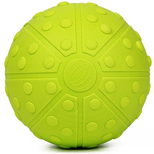 Premium Deep Tissue Massage Ball ✮ 5 Inch ✮ No slip High Density EVA ✮ Effective for Myofascial Release, Trigger Point Massage, Therapy, Stretching, Rehabilitation, Muscle Tension & Knots Release