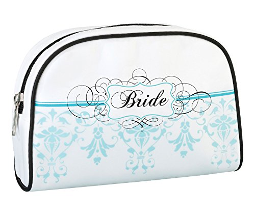 Lillian Rose TR621 BR Bride Travel Makeup Bag,