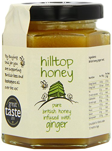 Hilltop Honey British Honey Infused with Ginger 227g