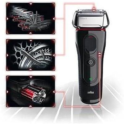 Braun 5030s Serie 5 afeitadora eléctrica Wet & Dry recargable ...