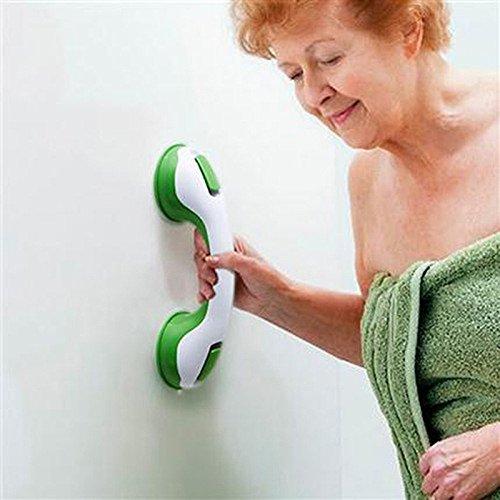 (UltaBuild(TM) Saf ety Helping Handle Anti Slip Support Toilet bthroom safe Grab Bar Handle Vacuum Sucker Suction Cup Handrail Grip)