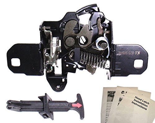 Hood Latch Lock Catch with Pull Handle + Instructions Compatible With Volkswagen VW New Beetle