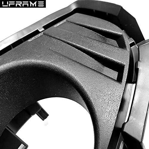 UFRAME Fits 2019 2020 Toyota Rav4 Fog light Kit w//Bezels//Wiring//Switch ////Halogen Bulbs