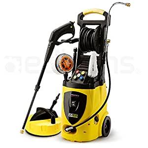 Jet-USA RX550 3800PSI Electric High Pressure Washer Cleaner, 30 Metre Hose, Includes Floor Cleaner