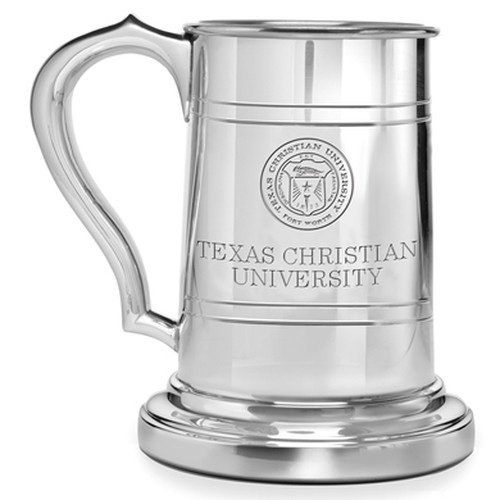 TCU Pewter Stein by M. LaHart