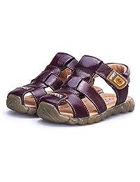 BININBOX Summer Breathable Sandals Girl Boys Toddler Kid Shoe Closed-Toe Sport