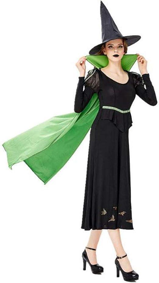 XRQ Disfraz de Bruja de Halloween, Juego de Roles para Adultos ...