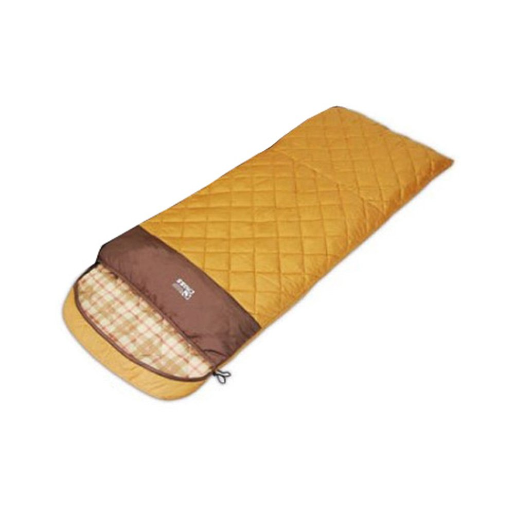 Kreuz Mayday Outdoor Camping 3seasons rechteckige Form Sleeping Bag Brown