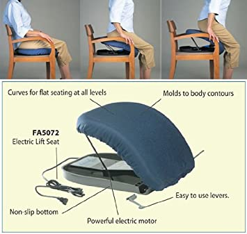 Amazon.com: up-easy asiento de elevación manual: Health ...