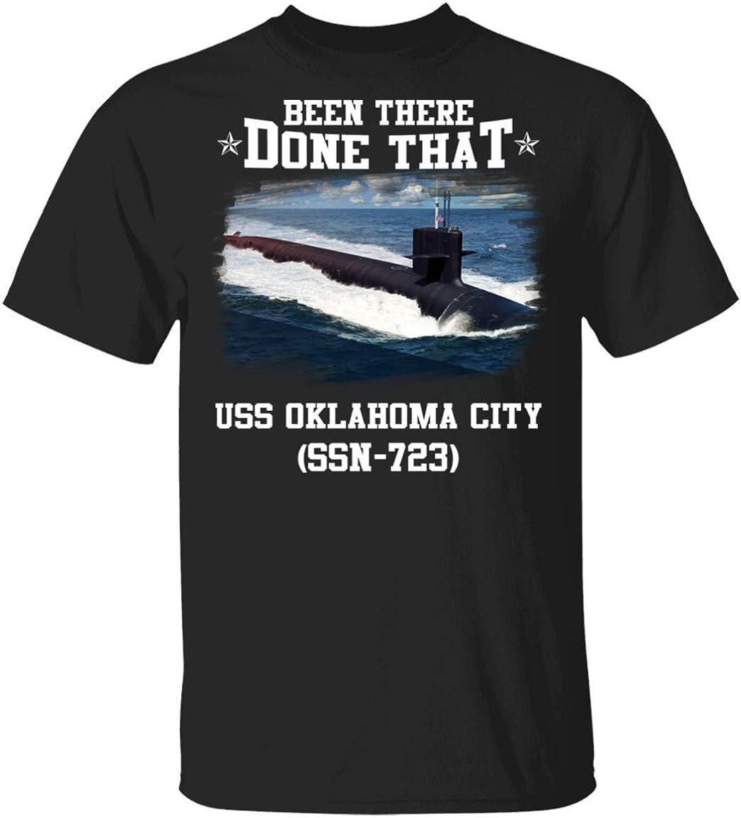 Charles Pricess USS Oklahoma City SSN-723 Veterans Day Christmas Tshirt