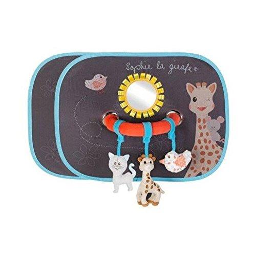 VULLI 470223 Sonnenschutz Sophie la girafe inkl. Spielbogen (Doppelpack), mehrfarbig elements for kids GmbH