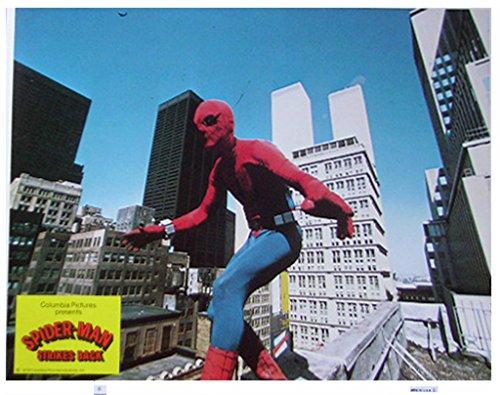 Spider-Man Strikes Back 1978 Authentic, Original VINTAGE Marvel production 11×14 Lobby Card #6