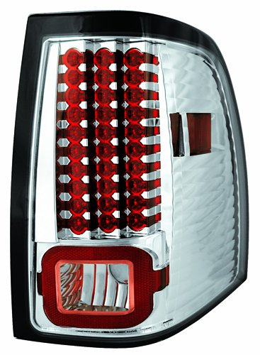 IPCW LEDT-517C Crystal Clear LED Tail Lamp - Pair
