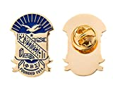 Desert Cactus Phi Beta Sigma Fraternity Crest Lapel Pin Enamel Greek Formal Wear Blazer Jacket (Gold Color Lapel Pin)