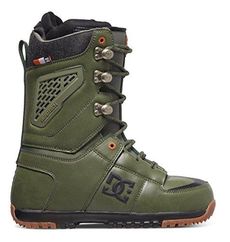 DC Shoes Mens Shoes Lynx - Snowboard Boots - Men - US 9.5 - Green Military Green US 9.5 / UK 8.5 / EU 42.5 (Dc Snowboarding Boots)