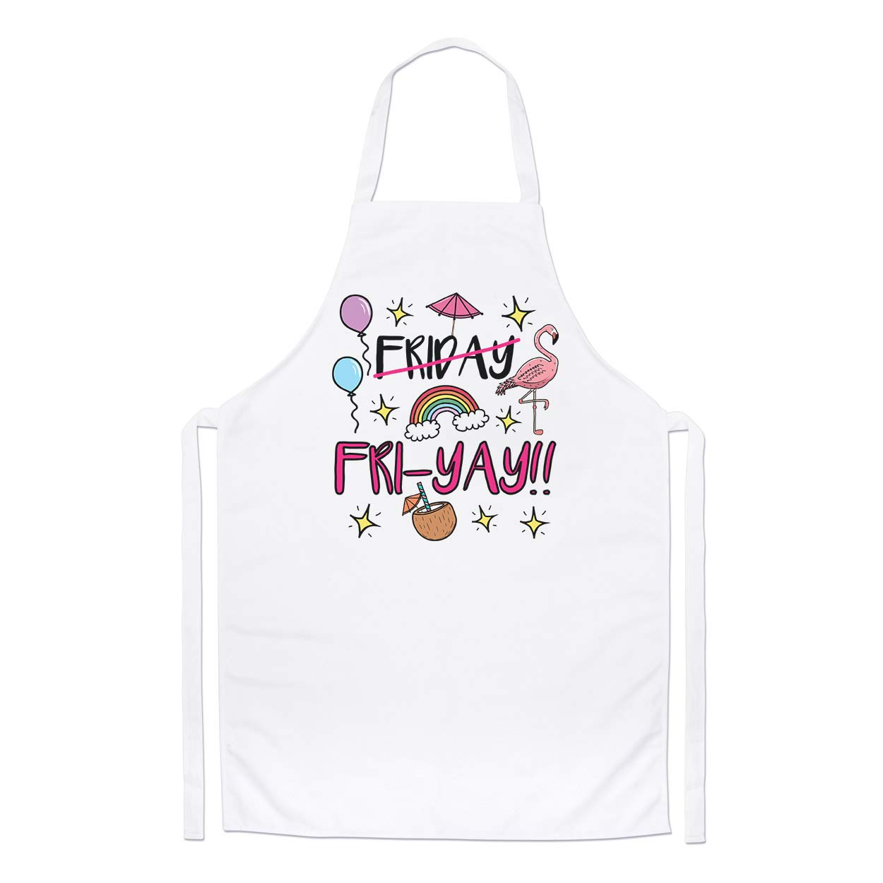 Friday Fri-Yay Chefs Apron Gift Base