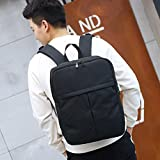 DDLBiz Laptop Backpack For Men Boys For Up To 16 Inch, Multi-function Business School Backpack With USB Charging Port (Black)