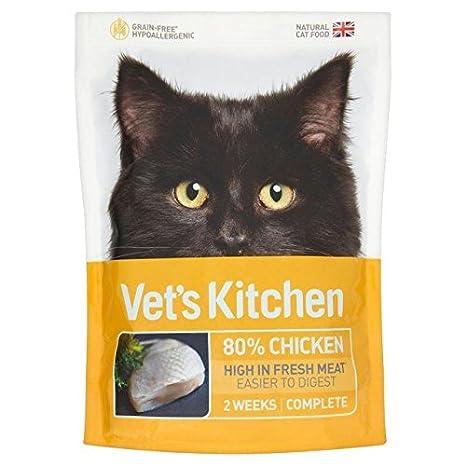 Vets Kitchen Pollo para comida de gato (770 g, 2 unidades ...