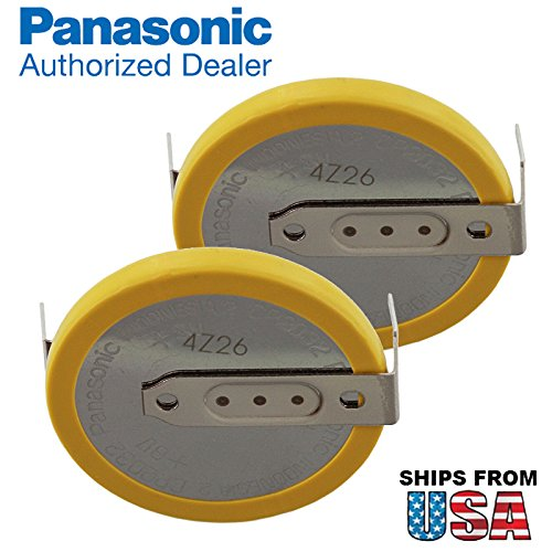 2x-panasonic-cr-2032-hfn-3v-lithium-coin-battery-horz-2-pins-for-cmos-date-time-compaq-presario-v600