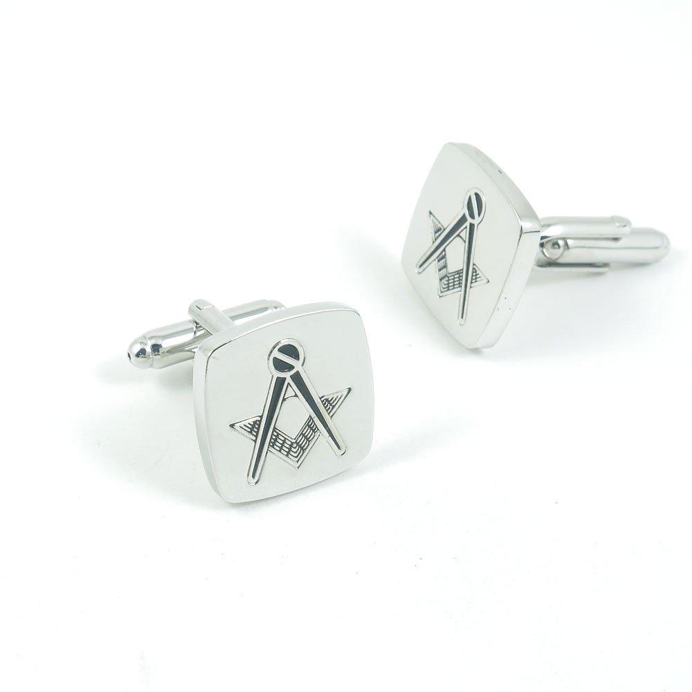 50 Pairs Cufflinks Cuff Links Fashion Mens Boys Jewelry Wedding Party Favors Gift UAT003 Masonic Symbol