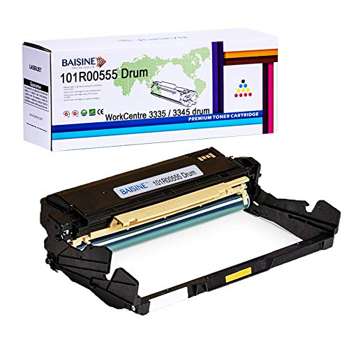 BAISINE Compatible WorkCentre 3345 Drum Cartridges Replacement for Xerox Phaser 3330, WorkCentre 3335, WorkCentre 3345 Printer | 101R00555 -- High Yield 30,000 Pages