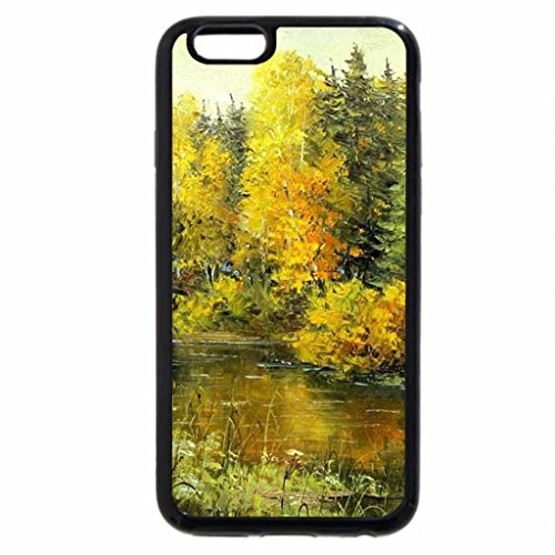 iPhone 6S / iPhone 6 Case (Black) D.Kozlov. Autumn in the Old Park