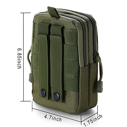 Boruk Tactical Pouch Tactical Molle Pouch Compact EDC Utility Gadget Waist  Bag Pack Cell Phone Pack 081359addf