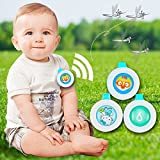 AGE CARE Reusable Mosquito Repellent Badge Button Baby Pregnant Woman Mosquito Repellent Clip For Travel Camping Hiking Outdoor Playing-2Pcs