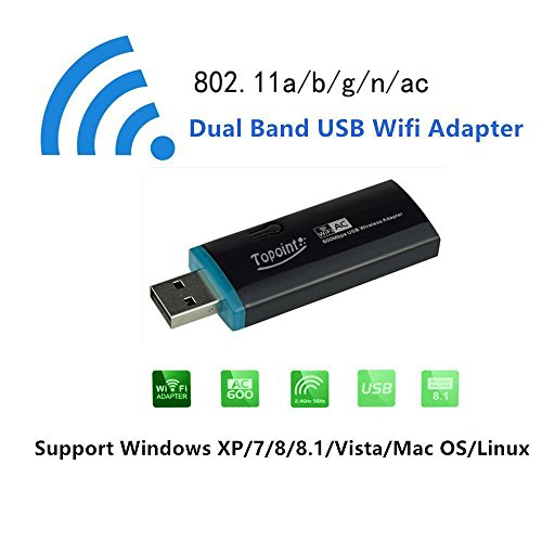 Adapter Topoint 600Mbps Wireless Computer