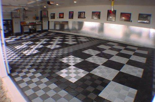 Amazoncom IncStores Vented GridLoc Tiles Inxinxin - Gridlock floor tiles