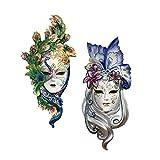 Design Toscano Inc Mask of Venice Wall Sculpture: Peacock Butterfly Masks