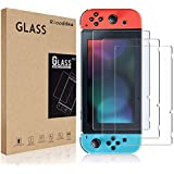 Pakesi Tempered Glass Screen Protector For Nintendo Switch (3-Pack)