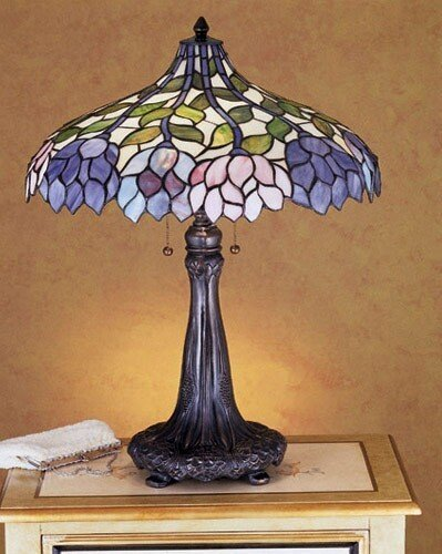 (Wisteria Table Lamp)