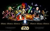 Star Wars Saga Movie Poster 24'x36'