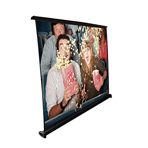(Portable Projector Screen - Mobile Projection Screen Stand, Lightweight Carry & Durable Easy Pull Out System for Schools Meeting Conference Indoor Outdoor Use, 40 Inch By Pyle (PRJTP46))