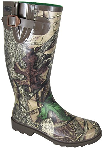 Smoky Mountain Ladies Camo Stalker Rubber Boots 8