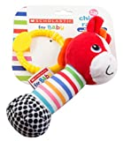 Scholastic Baby Rattle, Horse, 3-Pack