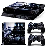 Ps4 Playstation 4 Console Skin Decal Sticker Star Wars Darth Vader Battlefront + 2 Controller Skins Set by ZoomHit